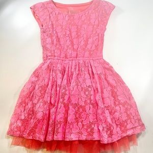 1989 Place Puffy Tulle Skirt Dress Sz Small 5/6